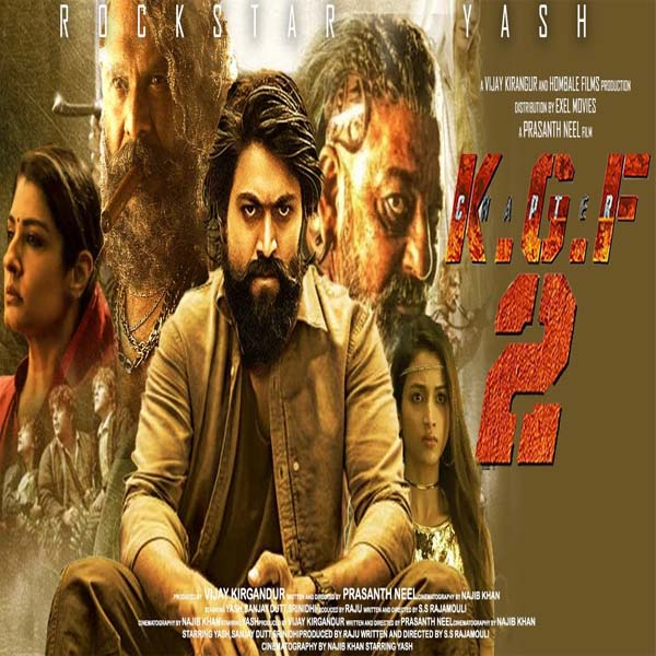 KGF Chapter 2 (2021) Tamil Mp3 Songs